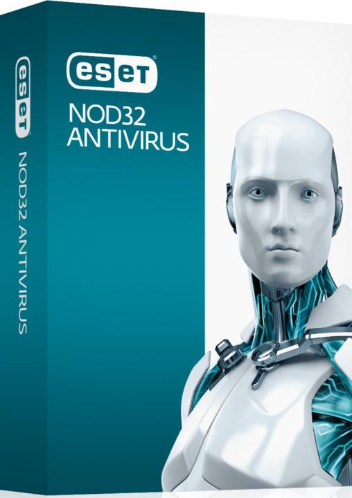 ESET NOD32 Antivirus pro 2 PC na 3 roky, prodloužení licence
