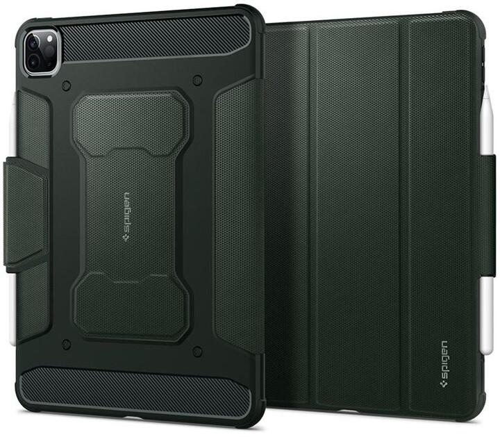 """Spigen ochranný kryt Rugged Armor pro iPad Pro 11"""" (2018/2020), zelená"""
