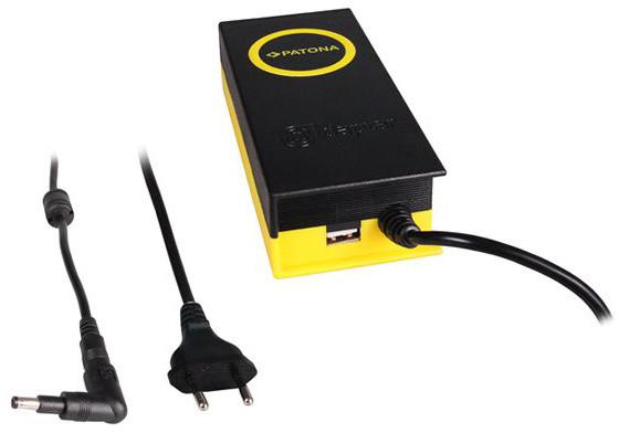 Patona napájecí adaptér k ntb/ 19,5V/4,7A 90W/ konektor 4,8x1,7mm/ + výstup USB