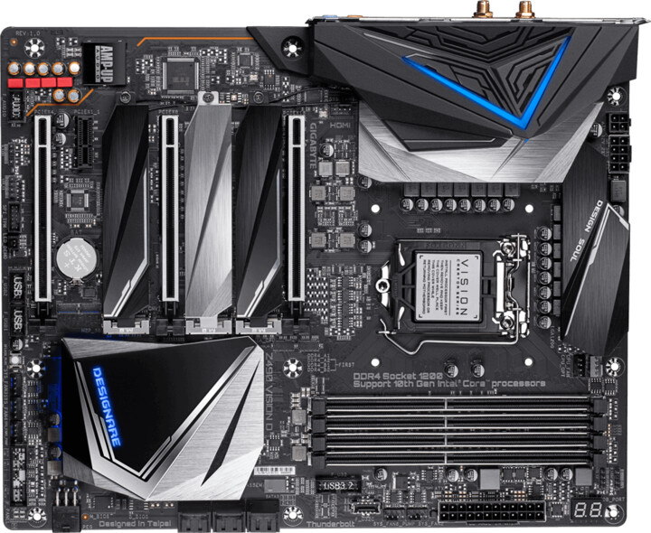 GIGABYTE Z490 VISION D - Intel Z490