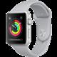 Apple Watch series 3 38mm pouzdro stříbrná/mlhově šedý řemínek  + Voucher až na 3 měsíce HBO GO jako dárek (max 1 ks na objednávku)