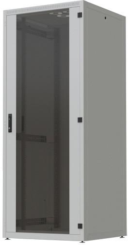 """CONTEG 4X rozvaděč, 19"""" stojanový, 42U, 800x800mm, zatížení 500kg, šedá"""