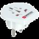 Skross cestovní adaptér Europe USB pro cizince v ČR, vč. 1x USB 2100mA