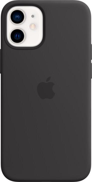 Apple silikonový kryt s MagSafe pro iPhone 12 mini, černá
