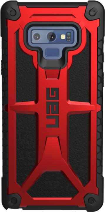 UAG Monarch case, Galaxy Note 9, crimson