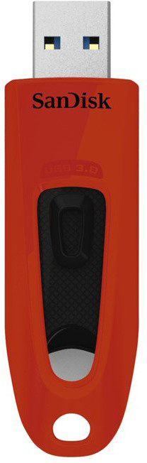 SanDisk Ultra 64GB červená