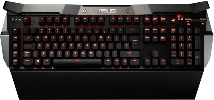 ASUS ROG GK2000 Horus Mechanical Gaming Keyboard, US