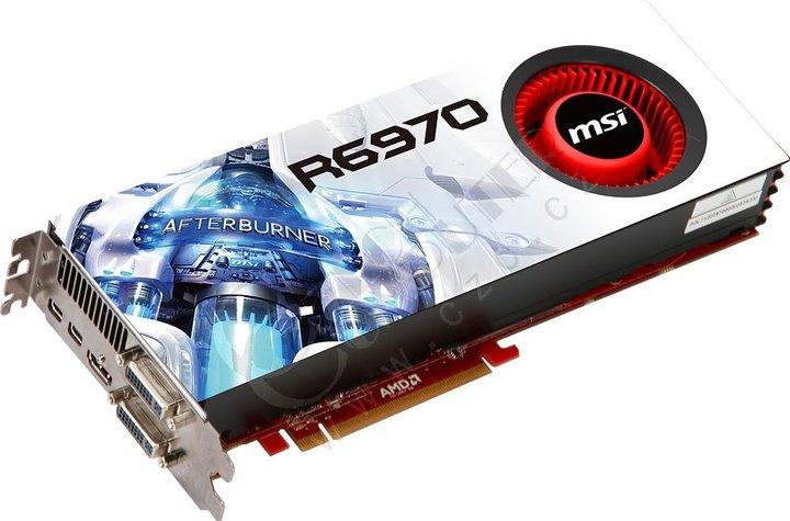MSI R6970-2PM2D2GD5, PCI-E