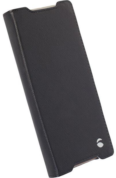 Krusell flipové pouzdro MALMÖ FolioCase pro Sony Xperia Z5 Compact, černá