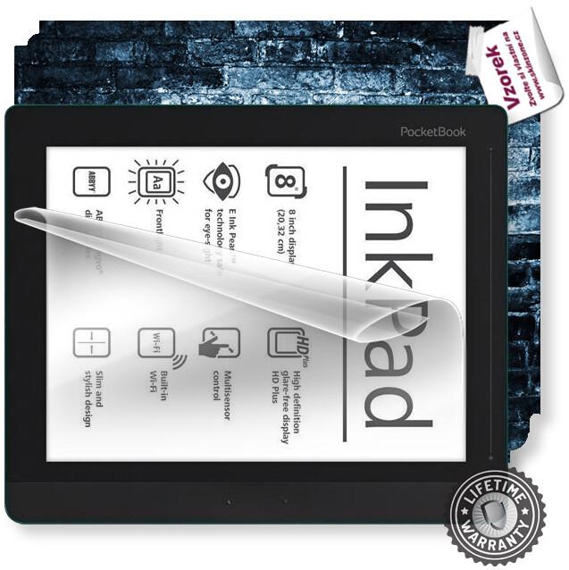 ScreenShield fólie na displej + skin voucher (vč. popl. za dopr.) pro Pocketbook 840 InkPad 2
