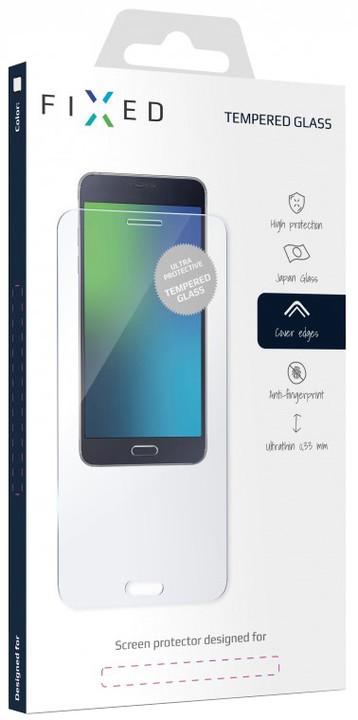 FIXED Full-Cover Ochranné tvrzené sklo pro Xiaomi Redmi Note 5A Prime Global, bílé