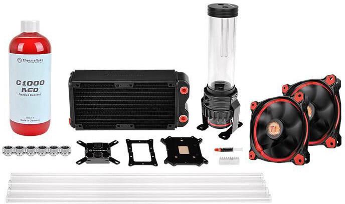 Thermaltake Pacific RL240 D5 Hard Tube Water Cooling Kit (240mm)