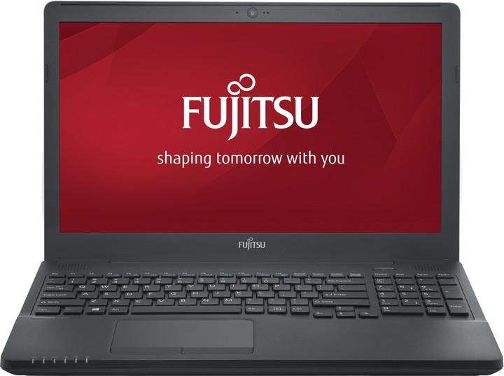 Fujitsu Lifebook A556, černá