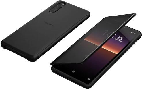 Sony pouzdro Style Cover View pro Xperia 10 II, černá