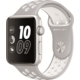 Apple Watch Nike + 42mm Silver Aluminium Case with Platinum / White Nike Sport Band