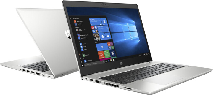 HP ProBook 455 G7, stříbrná