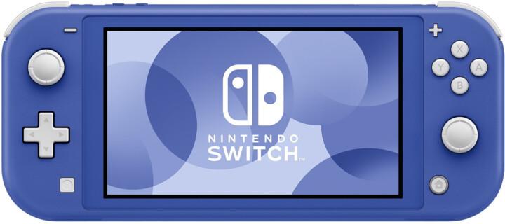 Nintendo Switch Lite, modrá