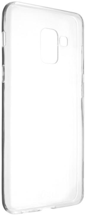 FIXED Skin ultratenké TPU gelové pouzdro pro Samsung Galaxy A8 (2018), 0,6 mm, čiré