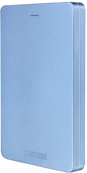 Toshiba Canvio Alu 3S - 500GB, modrá