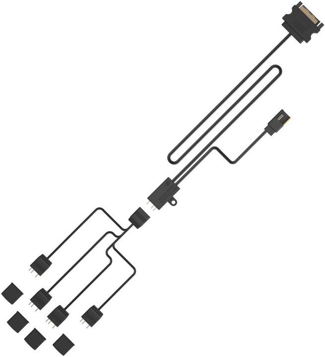 SilentiumPC Nano Reset ARGB Kit