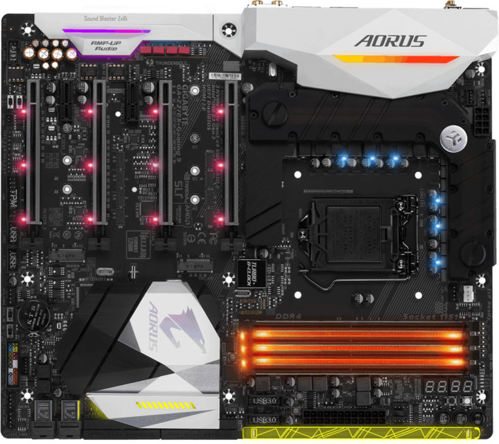 GIGABYTE AORUS Z270X-Gaming 9 - Intel Z270