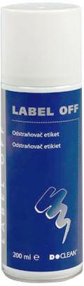 D-Clean odstraňovač etiket 200 ml