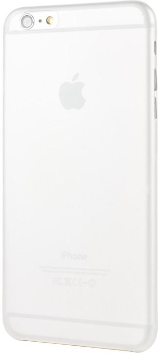 EPICO ultratenký plastový kryt pro iPhone 6/6S Plus EPICO TWIGGY MATT - čirá bílá