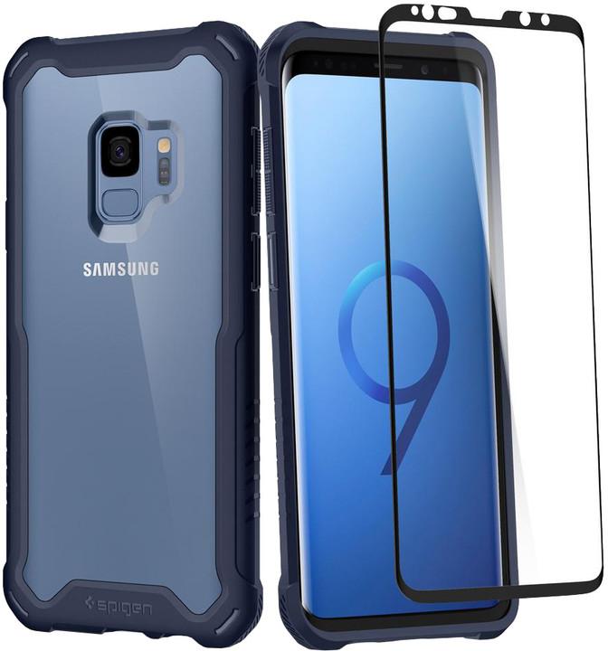 Spigen Hybrid 360 pro Samsung Galaxy S9, deepsea blue