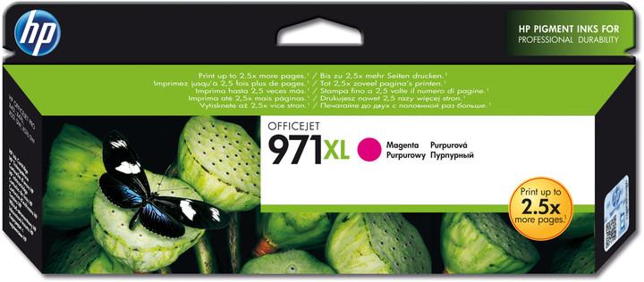 HP CN627AE, magenta, č. 971XL – ušetřete až 50 % oproti standardní náplni