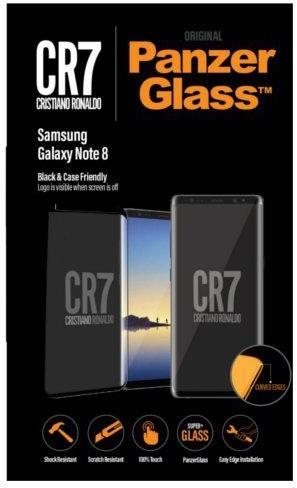 PanzerGlass Samsung Galaxy Note 8 Black, CaseFriendly CR7