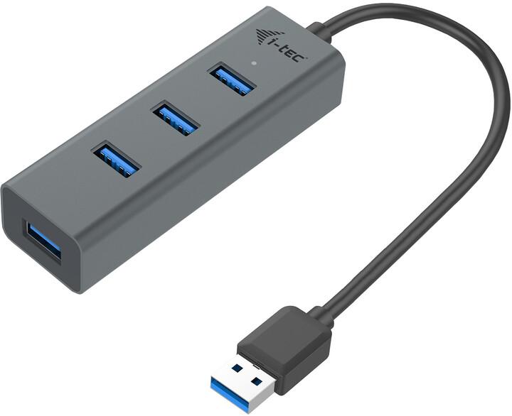 i-tec USB 3.0 Metal pasivní 4 portový HUB