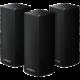 Linksys Velop Whole Home Intelligent Mesh WiFi System, Tri-Band, černá, 3ks - Rozbalené zboží
