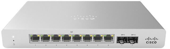 Cisco Meraki MS120-8LP 1G L2 Cloud Managed
