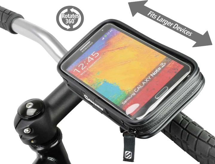 """Scosche handleIT pro XL voděodolný držák na kolo pro telefony s displejem max 5,5"""""""