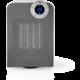 Nedis chytrý Wi-Fi ventilátor s topným tělesem, kompaktní, termostat, oscilace, 1 800 W, bílý