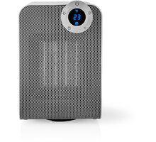 Nedis chytrý Wi-Fi ventilátor s topným tělesem, kompaktní, termostat, oscilace, 1 800 W, bílý - WIFIFNH20CWT