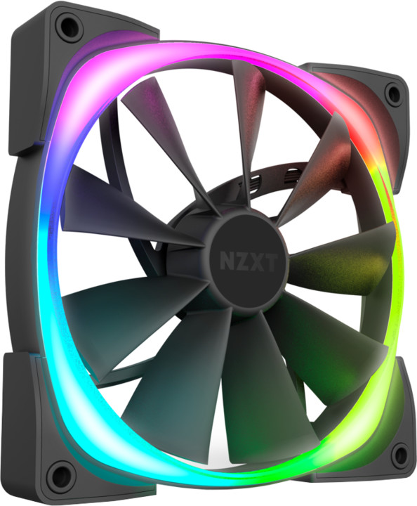 NZXT Aer RGB 2 Series HF-28120-B1, HUE 2, 120mm, 4-pin