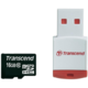 Transcend Micro SDHC 16GB Class 10 + USB čtečka