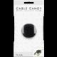Cable Candy kabelový organizér Turtle, černá