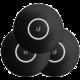 Ubiquiti kryt pro UAP-nanoHD, černý motiv, 3 kusy
