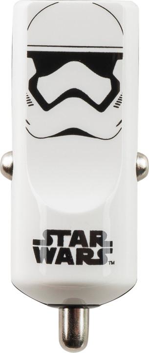 Tribe Star Wars Stormtrooper Nabíječka do auta - Bílá