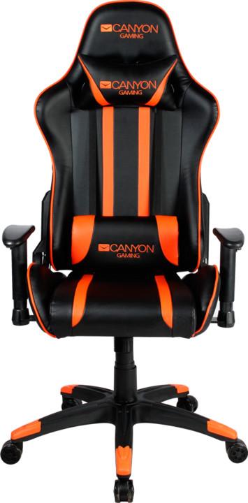Canyon Fobos CND-SGCH3, černá/oranžová