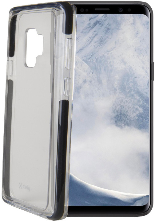 CELLY zadní kryt Hexagon pro Samsung Galaxy S9, černý