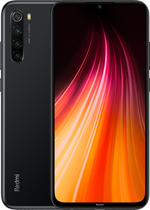 Xiaomi Redmi Note 8, 4GB/128GB, Space Black