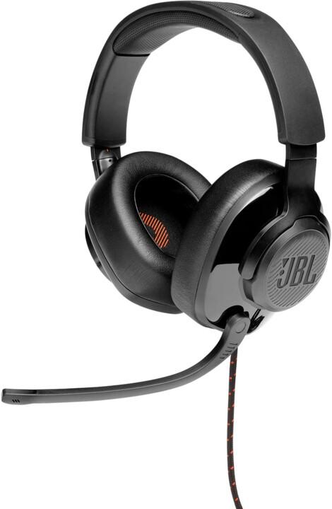 JBL Quantum 200, černá