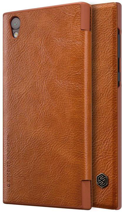 Nillkin Qin Book Pouzdro pro Sony G3311 Xperia L1, Brown