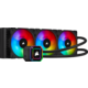 Corsair iCUE H150i ELITE CAPELLIX, 3x120mm RGB
