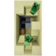 Ručník Minecraft - Creepers
