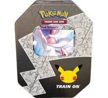 Karetní hra Pokémon TCG: Celebrations Dark Sylveon V Tin