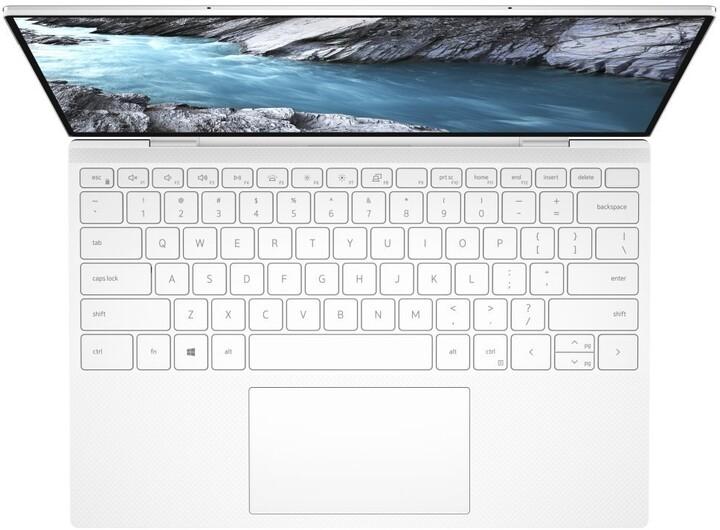 Dell XPS 13 (9310), stříbrná/bílá